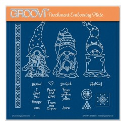 (GRO-FY-41982-03)Groovi Plate A5 BARBARA'S GÜD GNOMES