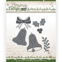 (JAD10140)Dies - Jeanine's Art - Christmas Cottage - Christmas Bells