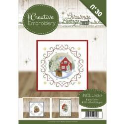 (CB10030)Creative Embroidery 30 - JA - Christmas Cottage