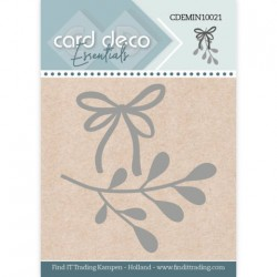 (CDEMIN10021)Card Deco Essentials - Mini Dies - Mistletoe