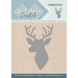 (CDEMIN10030)Card Deco Essentials - Mini Dies - Deer Silhouette