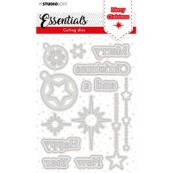 (SL-ES-CD119)Studio Light SL Cutting Die Christmas Merry Christmas ENG 2 Essentials nr.119
