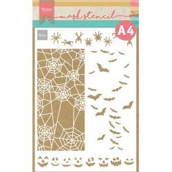 (PS8108)Marianne Design Mask stencil, Slimline Halloween