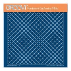 (GRO-PA-41784-03)Groovi Plate A5 LATTICE