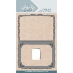 (CDCD10049)Card Deco Essentials Dies - Holly Corner A7