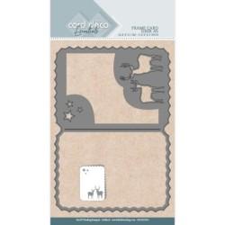 (CDCD10053)Card Deco Essentials Dies - Deer A7