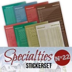 (SPECSTS022)Specialties 22 stickerset
