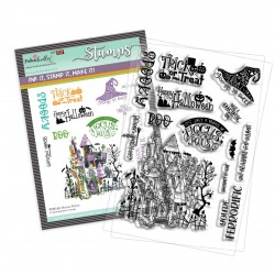 (PD8165)Polkadoodles Hocus Pocus Clear Stamps