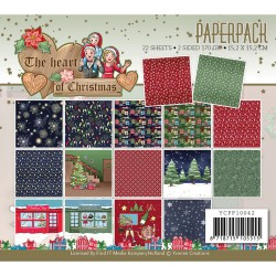 (YCPP10042)Paperpack - Yvonne Creations - The Heart of Christmas
