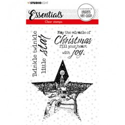 (BL-ES-STAMP112)Studio light  BL Clear stamp Star Essentials nr.112