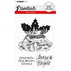 (BL-ES-STAMP114)Studio light BL Clear stamp Christmas Bells Essentials nr.114