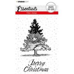 (BL-ES-STAMP117)Studio light BL Clear stamp Christmas Tree Essentials nr.117
