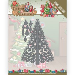 (YCD10255)Dies - Yvonne Creations - The Heart of Christmas - Twinkling Tree