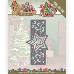 (YCD10256)Dies - Yvonne Creations - The Heart of Christmas - Twinkling Border
