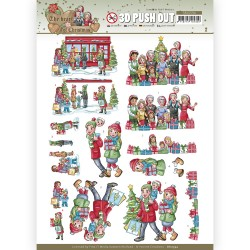 (SB10594)3D Push Out - Yvonne Creations - The Heart of Christmas - Shopping