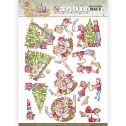 (SB10596)3D Push Out - Yvonne Creations - The Heart of Christmas - Celebrations