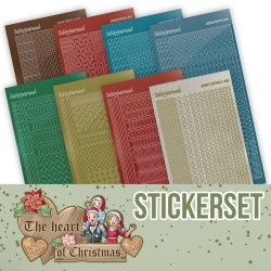 (CHSTS019)Creative Hobbydots Stickerset 19 - Yvonne Creations - The Heart of Christmas
