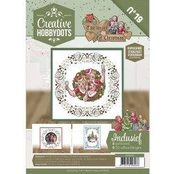 (CH10019)Creative Hobbydots 19 - Yvonne Creations - The Heart of Christmas
