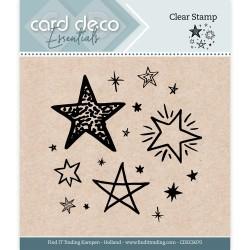 (CDECS070)Card Deco Essentials - Clear Stamps - Stars