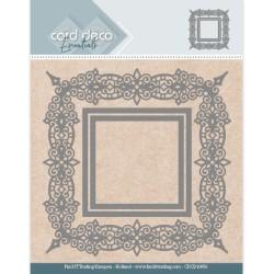 (CDCD10056)Card Deco Essentials Aperture Dies - Swirls Square