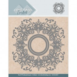 (CDCD10057)Card Deco Essentials Aperture Dies - Snowflake Round