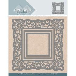 (CDCD10059)Card Deco Essentials Aperture Dies - Flower Square