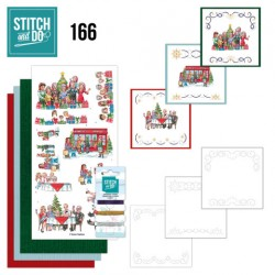 (STDO166)Stitch and Do 166 - Yvonne Creations - The Heart of Christmas - Shopping