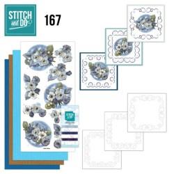 (STDO167)Stitch and Do 167 - Amy Design - Awesome Winter - Winter Flowers
