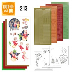 (DODO213)Dot and Do 213 - Yvonne Creations - The Heart of Christmas - Fireworks
