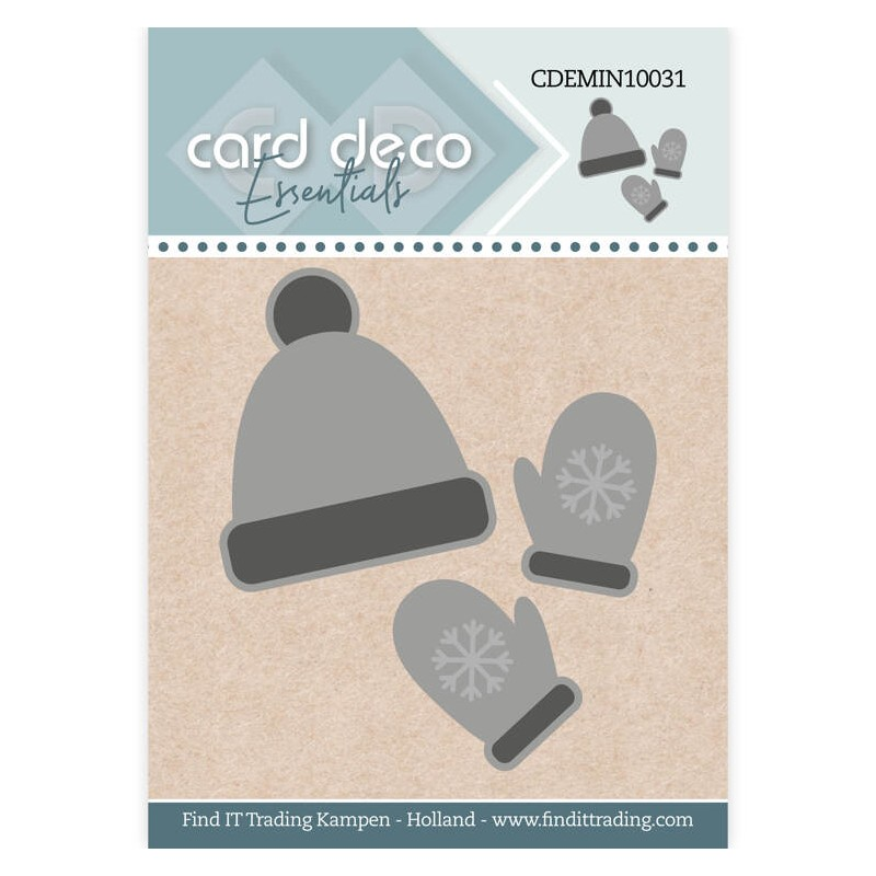 (CDEMIN10031)Card Deco Essentials - Mini Dies - Card Deco Essentials - Mini Dies - Winter Wear