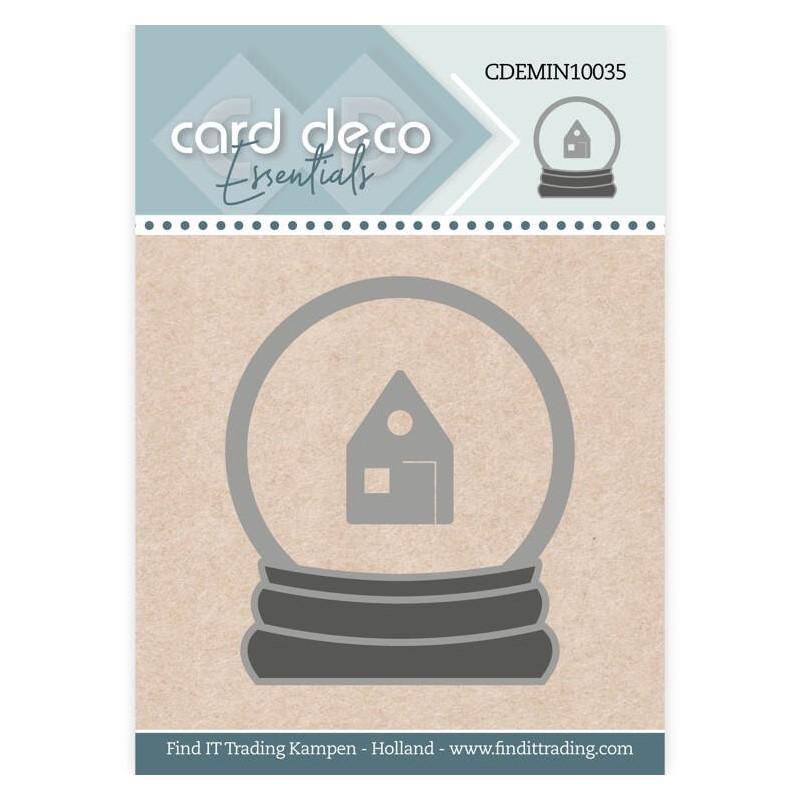 (CDEMIN10035)Card Deco Essentials - Mini Dies - Snowglobe