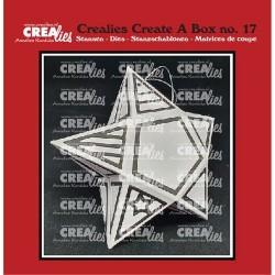 (CCAB17)Crealies Create A Box no. 17 Starbox