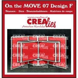 (CLMOVE07)Crealies On The MOVE Mix Book Card
