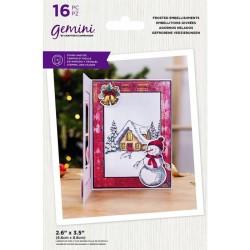 (GEM-STD-FROSTEMB)Gemini Frosted Embellishments Stamp & Die