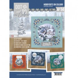 (DODOOC10014)Dot and Do on Colour 14 - Amy Design - Awesome Winter