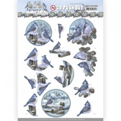 (SB10600)3D Push Out - Amy Design - Awesome Winter - Winter Birds