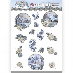 (SB10601)3D Push Out - Amy Design - Awesome Winter - Winter Village