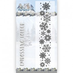 (ADEMB10013)Embossing Folder - Amy Design - Awesome Winter