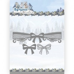 (ADD10254)Dies - Amy Design - Awesome Winter - Winter Lace Bow