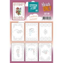 (COSTDOA610009)Stitch and Do - Cards Only - Set 09