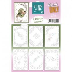 (COSTDOA610010)Stitch and Do - Cards Only - Set 10