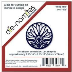 (DN-1029)Die-Namites Tulip Trio