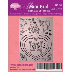Pergamano Mini set grid 18 (71018)