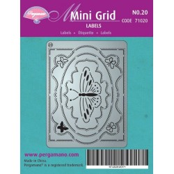Pergamano Mini set grid 20 (71020)