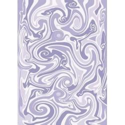 Pergamano Vellum swirl purple