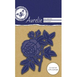 (AUCD1001)Aurelie Rose Bouquet Die