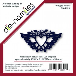 (DN-1129)Die-Namites Winged Heart