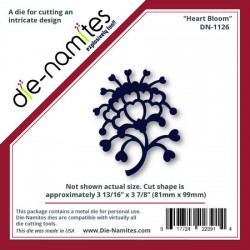 (DN-1126)Die-Namites Heart Bloom
