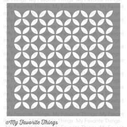 (ST-30)My Favorite Things Petal Circles Stencils