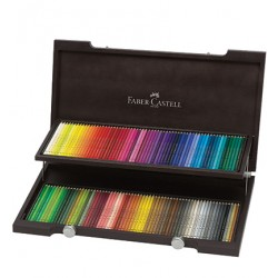 (013)Pencil FC Polychromos wood case 120 colours